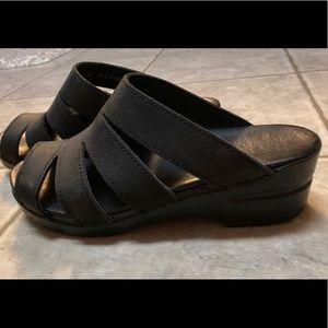 Dansko black sandals